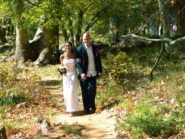 "The ""Wedding Walk"""