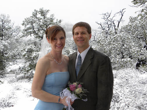 Sedona Winter Wedding