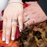 wedding hands in Sedona