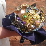 Sedona wedding heirloom bouquet