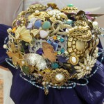 bridal brooch bouqet