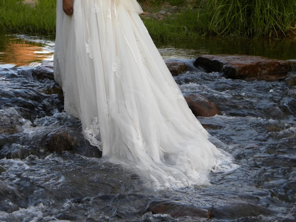 In the Flow Sedona Wedding Moment