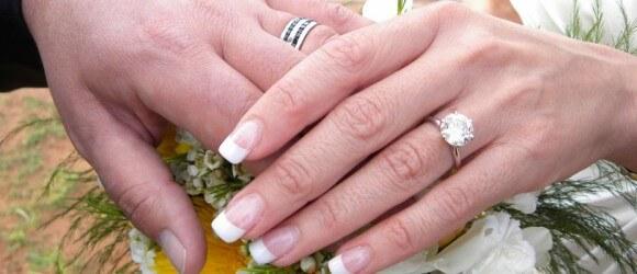 wedding hands Sedona Arizona