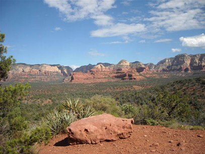 Isis overlook view one of the top sedona wedding venues