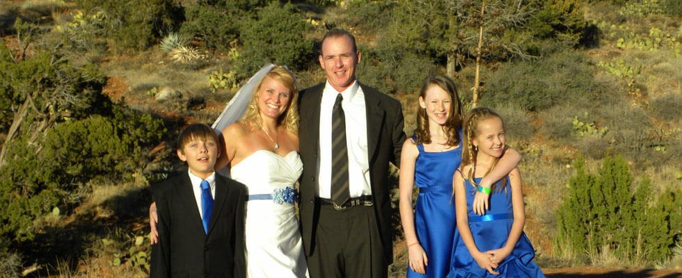 Including Children In Your Sedona Wedding Ceremony