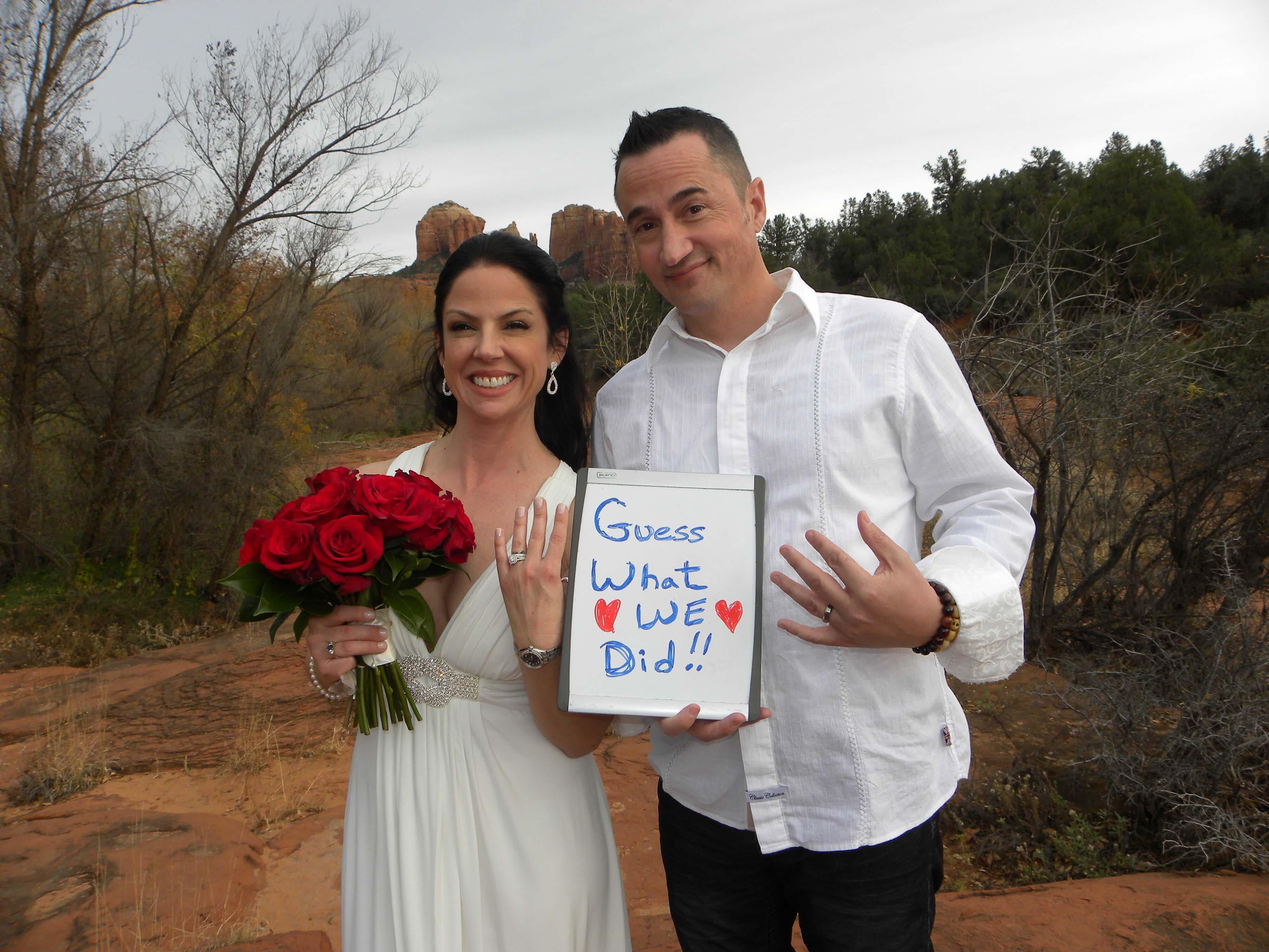 Sedona Elopement Packages are Easy and Affordable