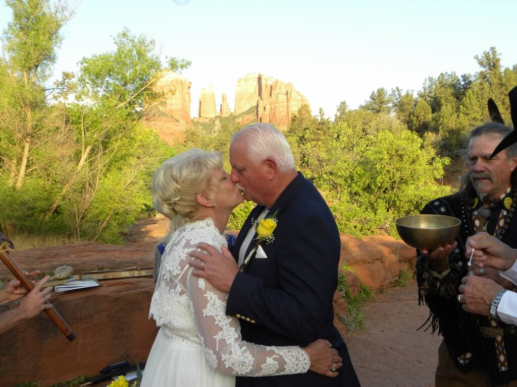 Sedona Vortex Spirit Vow Renewal Ceremony