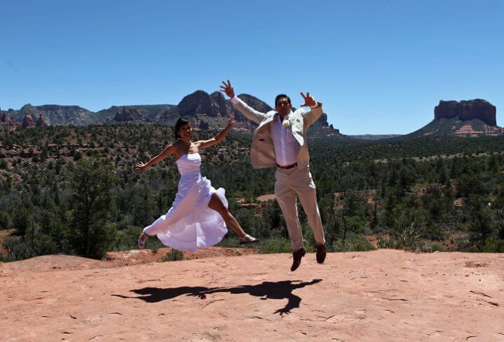 Taking A Leap Of Faith With Our Sedona Weddings