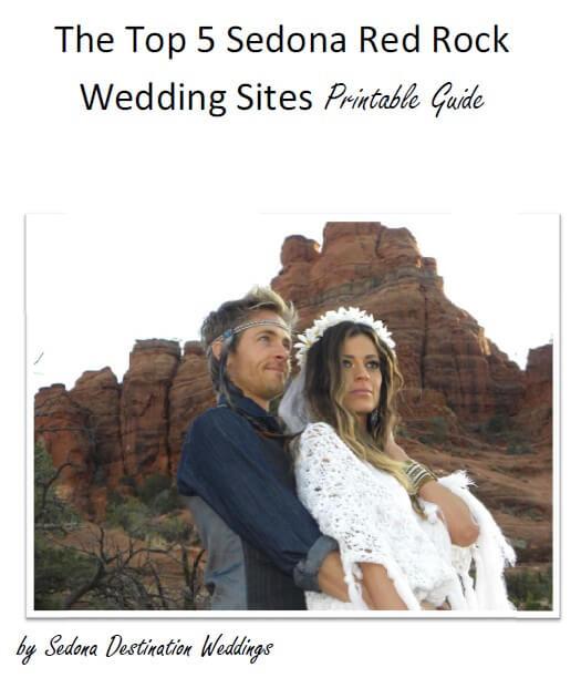 The Top 5 Sedona Red Rock Wedding Sites