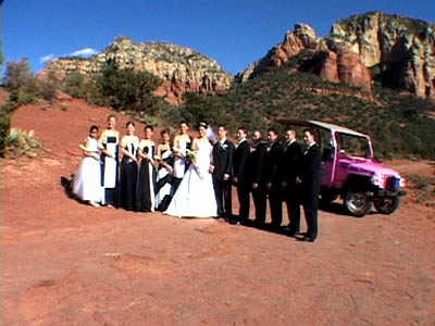 Sedona Destination Weddings Has A Pink Jeep Option For You U2014 Our Sedona  Adventure Package. Weu0027ve Selected Merry Go Round Rock As The Sedona Wedding  Site.