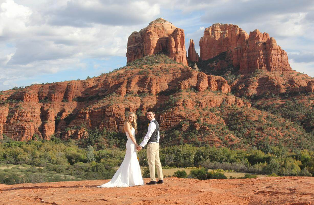The cathedral vista sedona wedding venue popular all year round see all our wedding venues here junglespirit Choice Image