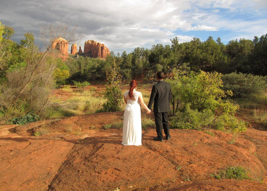 Red Rock Crossing The Most Popular Sedona Wedding Venue