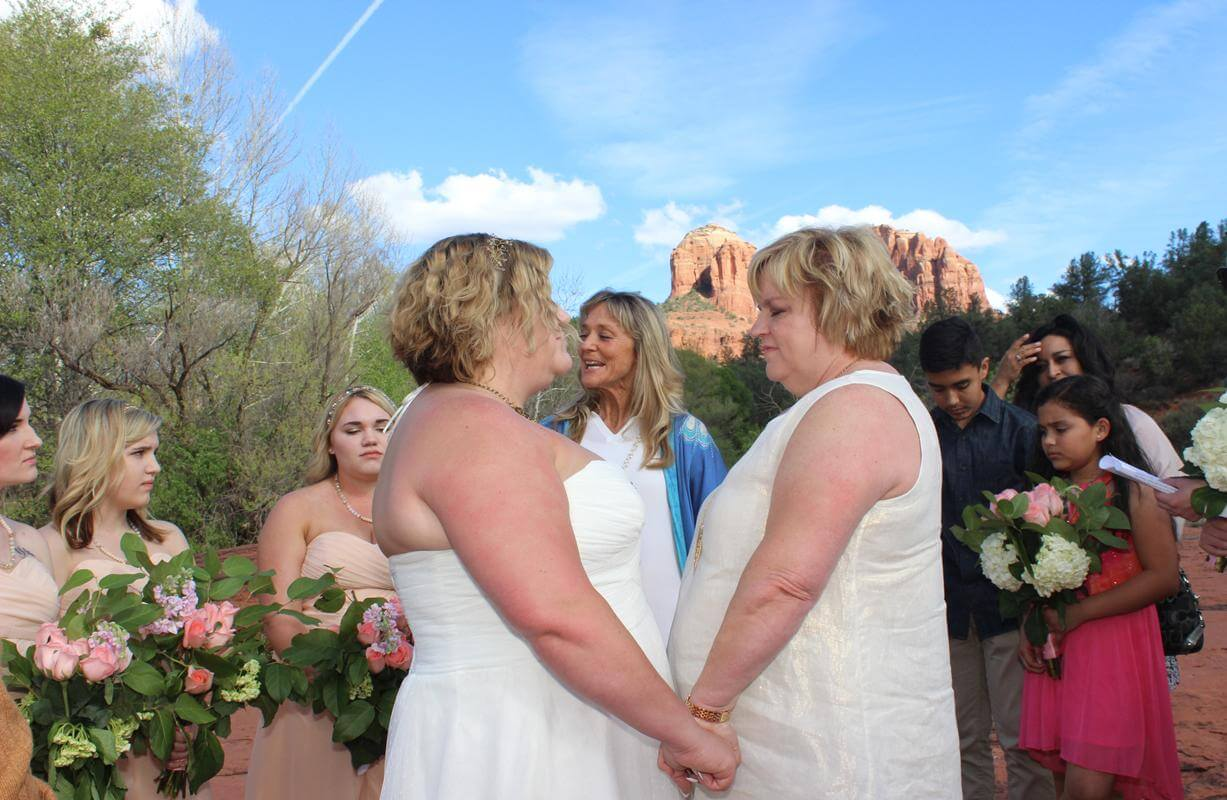 Lesbian Marriage Ceremony 93