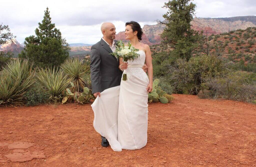 Huckaby Hollow couple just married