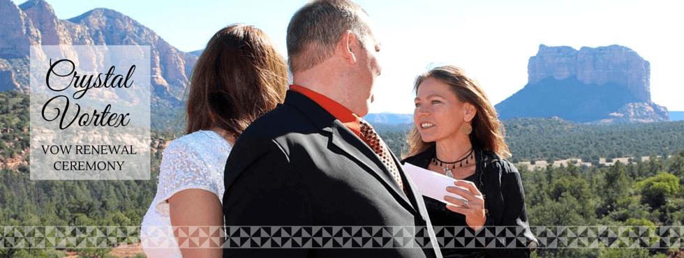 Sedona Crystal Vortex Vow Renewal Ceremony