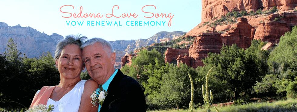 Sedona Love Song Vow Renewal Ceremony