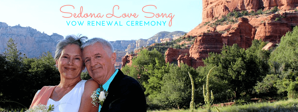 Sedona Love Song Vow Renewal Ceremony