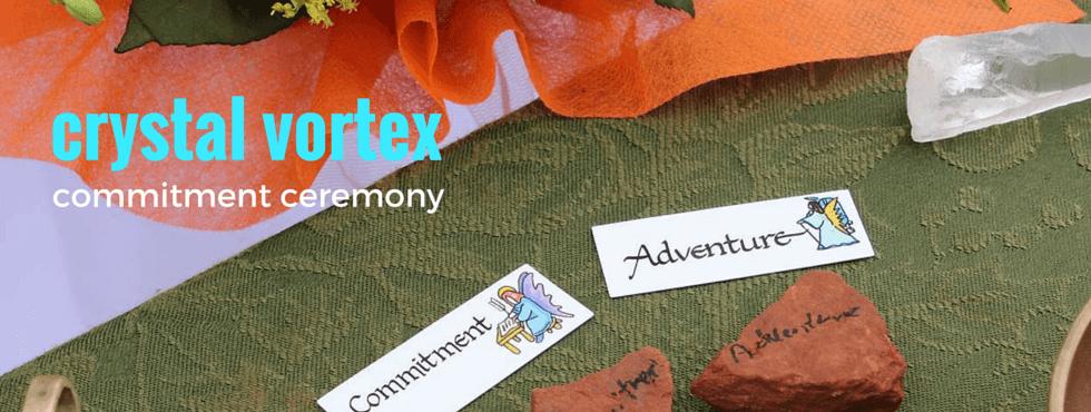 Sedona Crystal Vortex Commitment Ceremony