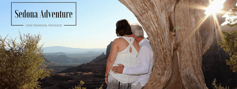 Sedona Adventure Vow Renewal Ceremony
