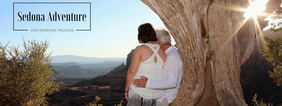 Sedona Adventure Vow Renewal Ceremony