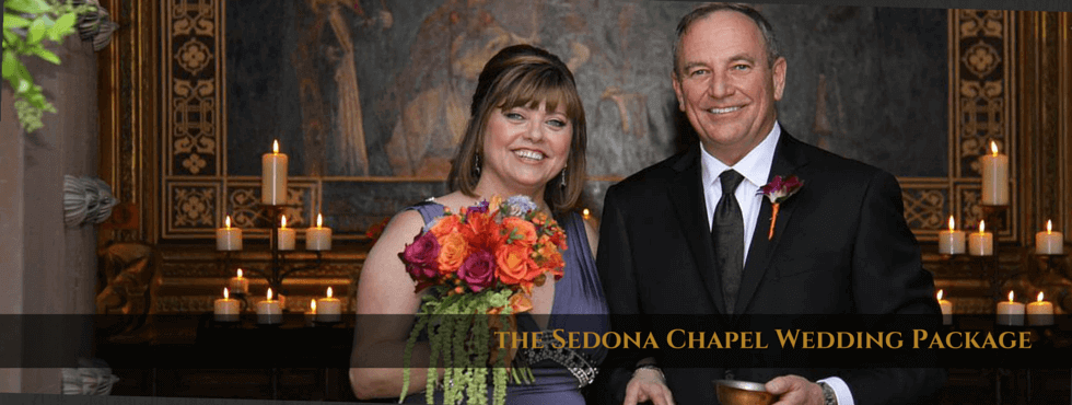 The Sedona Chapel Wedding Package