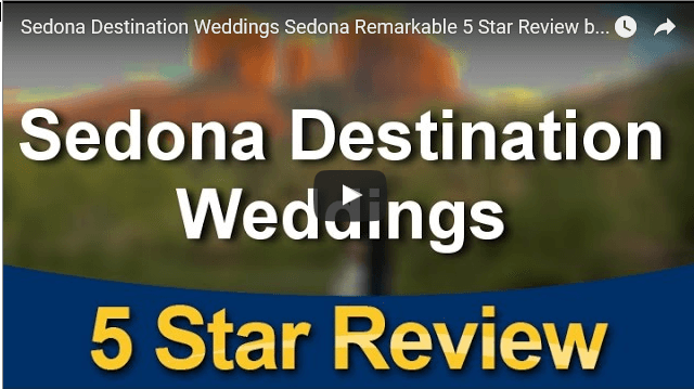 Sedona Weddings Reviews Remarkable 5 Star Testimonial by Rich F.