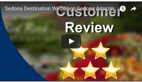 Sedona Destination Weddings Amazing 5 Star Review by Lisa A.