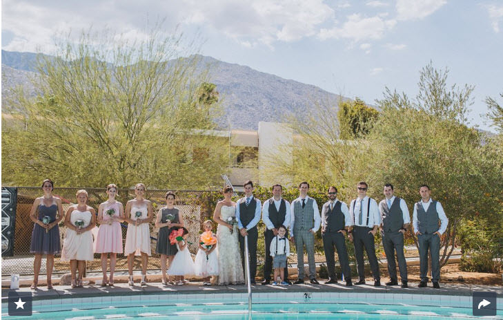 You Won't Believe This Is a Backyard Wedding –but It Is!
