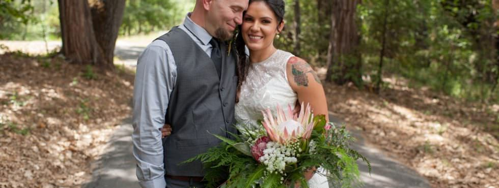 Every Part of This Serene California Forest Wedding Is Completely Gorgeous