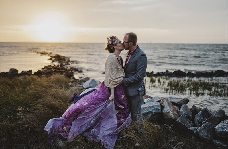 This intimate, handmade Ocracoke Island wedding wins the internet today