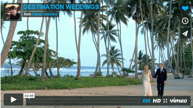 DESTINATION WEDDINGS by Adam Grumbo