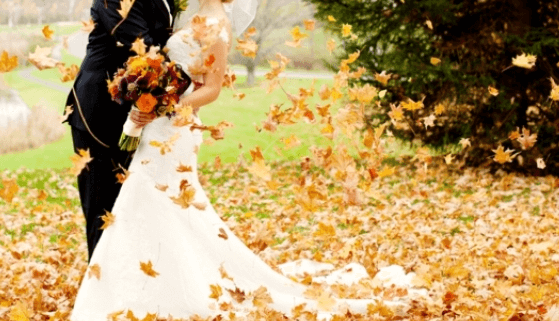 The Perfect Autumn Garden Wedding