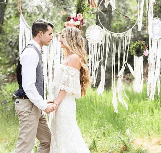 Boho Backyard Weddings