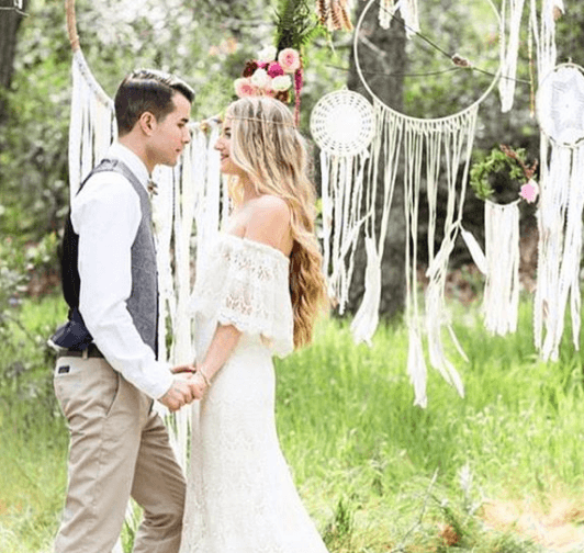 Boho Backyard Weddings