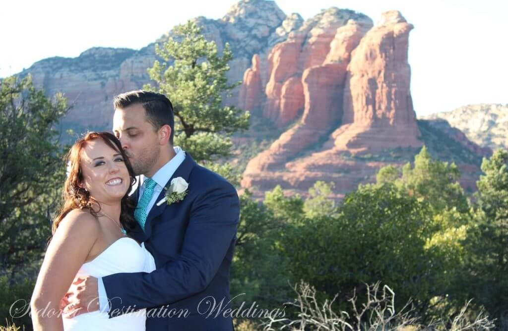 Christa Joshua Sedona Wedding