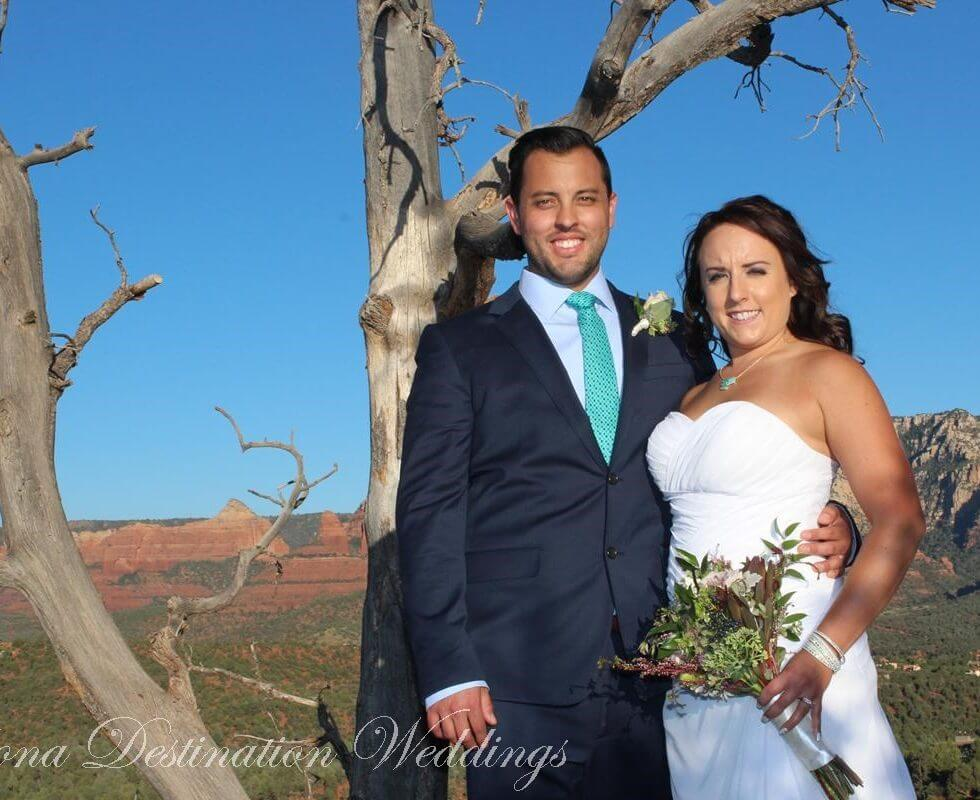 The Sedona Wedding of Christa and Joshua at Magic Vista