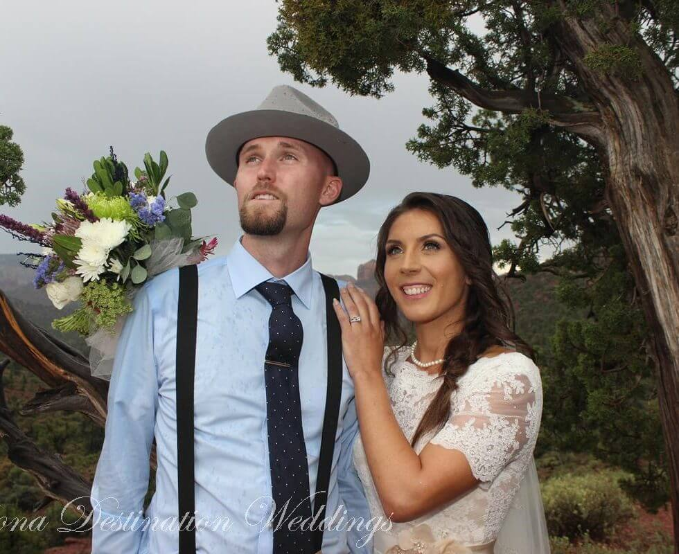 The Sedona Wedding of Heather and Ryan at Lover's Knoll
