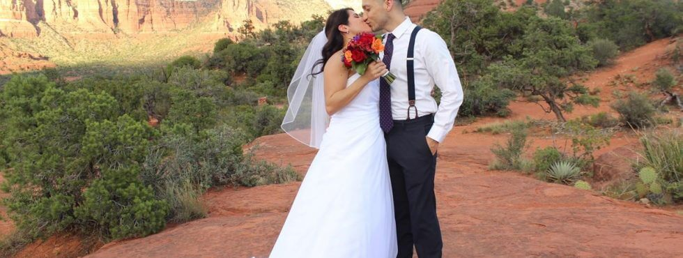 The Sedona Wedding of Vanessa and Marco at Bell Rock