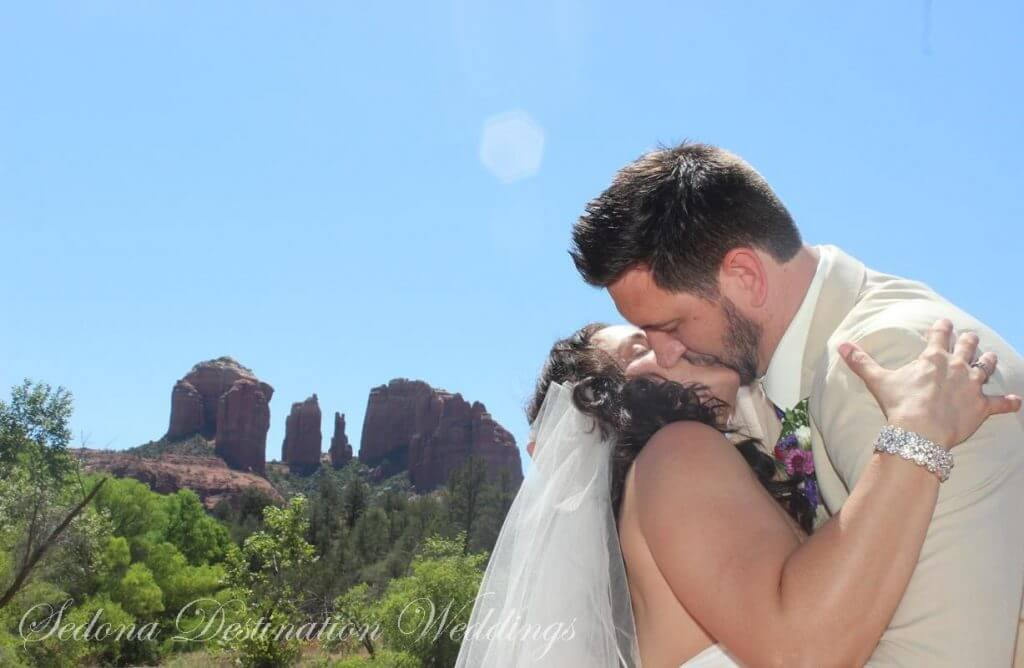 Natalia and Michael Sedona Wedding