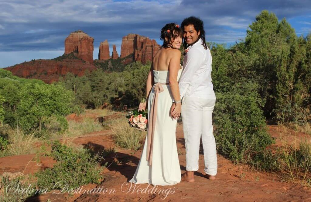 Janice and Brahim Sedona Wedding