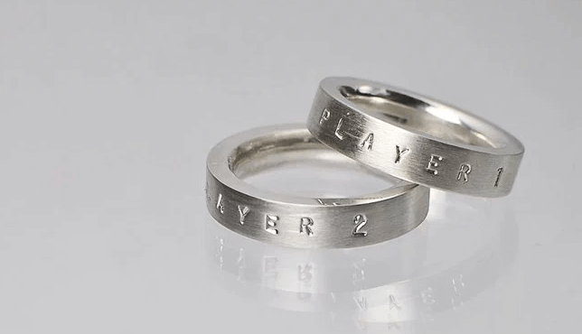 Quirky Wedding Rings For Geeky Couples!