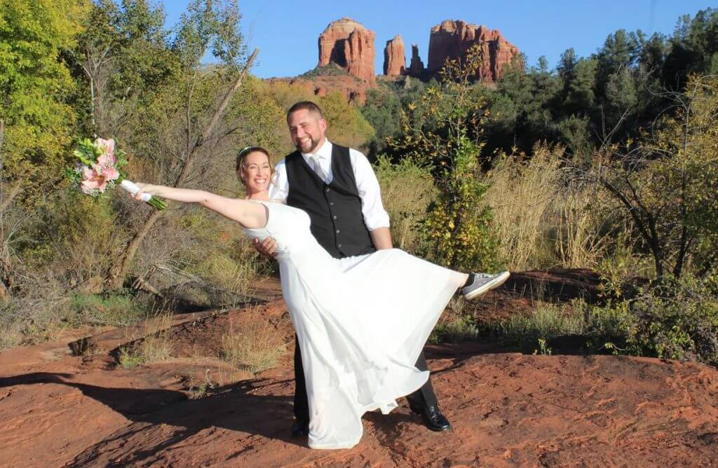 Stacie Drew Sedona Wedding