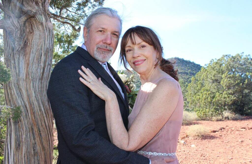 Faye Jeff Sedona Wedding