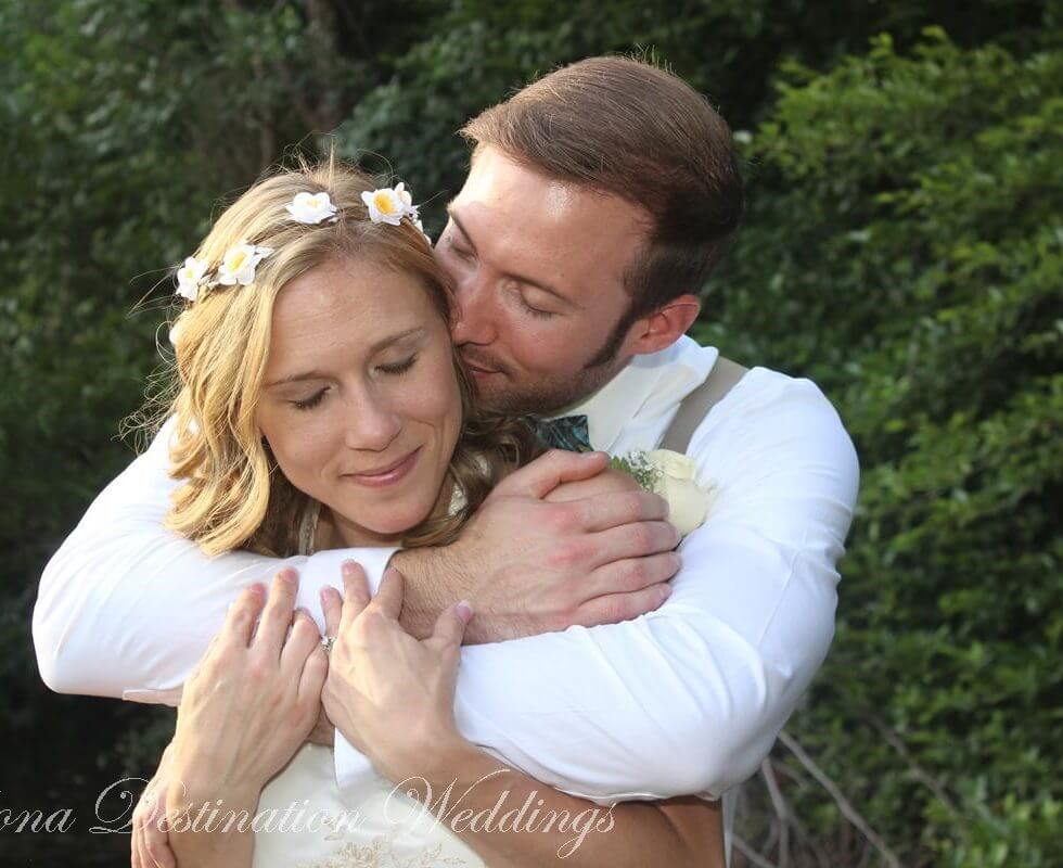 The Sedona Wedding of Samantha and Aaron at Red Rock Crossing