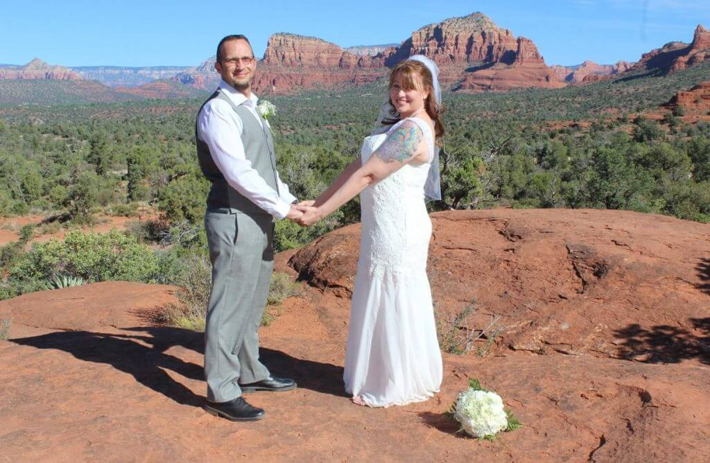 Dawn Jason Sedona Wedding