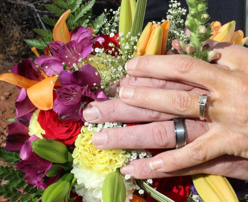 The Sedona Wedding of Stephanie and Kent at Magic Vista