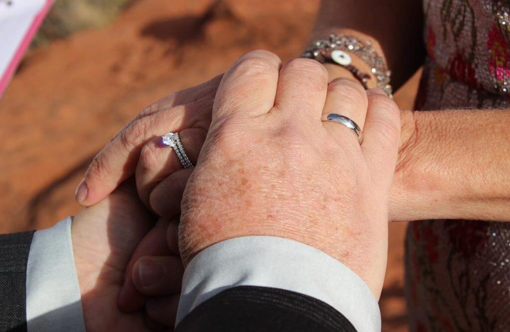 Lorraine Steve Sedona Wedding