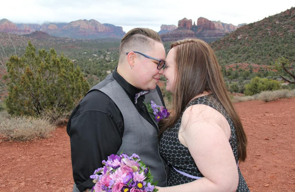 Aileen Rebekah Sedona Wedding
