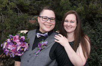 Aileen Rebekah Sedona Wedding