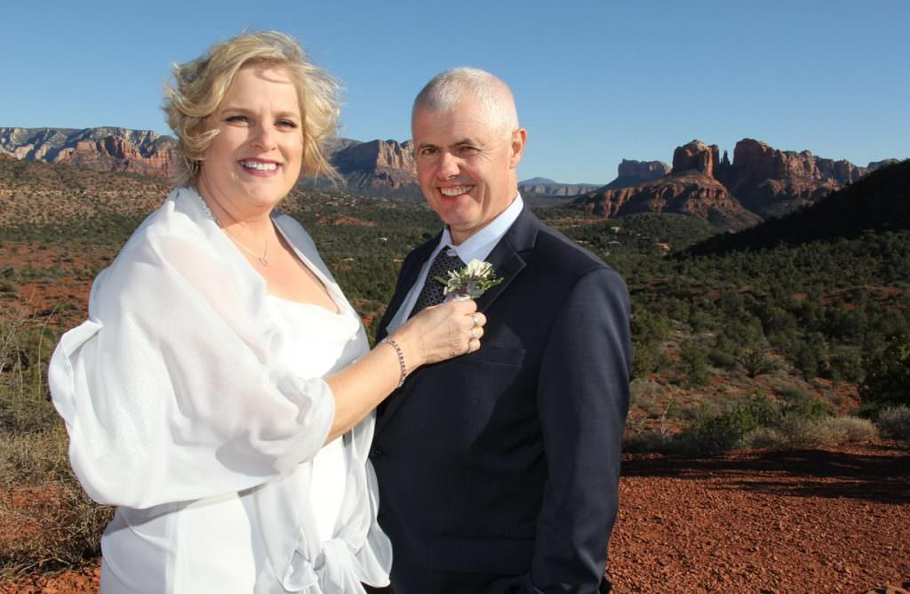 Gina Patrick Sedona Wedding